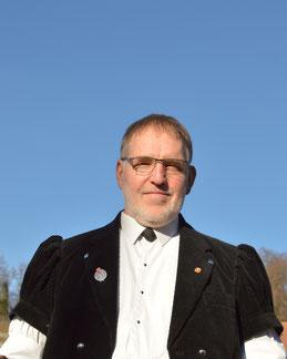 Karl Lauber, Präsident vom Jodlerklub Blüemlisalp Scharnachtal