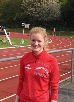 Rebecca Baum lief eine neue Bestzeit über 1500m