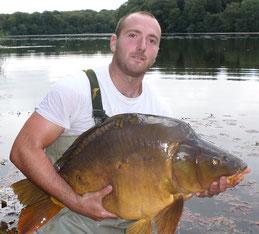 Loïs Collin pisciculture dorme jura etang carpe