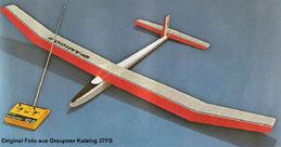 Graupner Amigo II Katalogbild der Klassiker 1966