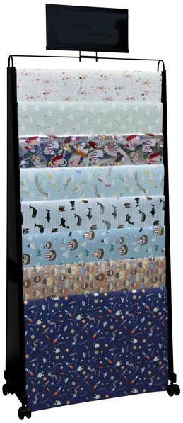Geschenkpapier Bogen Leiter Display