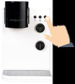Babymilch Automat einschalten - Milquino