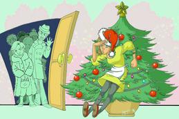 Pranzo di Natale, Fiori di Bach