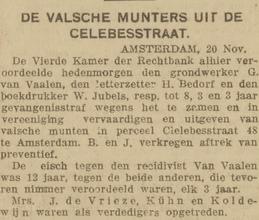 De courant 22-11-1919