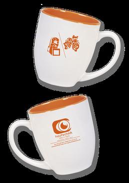 Tassen 400ml mit eigenem Logo