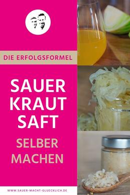 Sauerkrautsaft selber machen