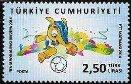Fussball-WM 2014 Türkei Ersatzmarke 2