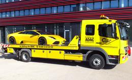 Abschleppwagen Karosserie-Baur