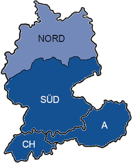 Karte CEproof Süddeutschland