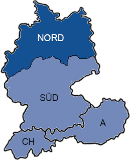 CEproof map North of Germany