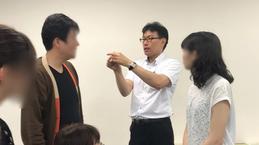 ST大野木先生による参加者への指導の様子