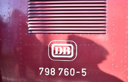 Sag ich doch: VT 98 (ex DB 798 760-5), DB VT98 9752); Baujahr 1960 Ausgemustert 31.12.1988