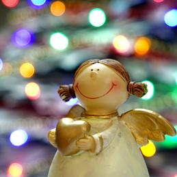 Weihnachtsengel im Küsterhaus Varrel