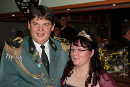 Königspaar Axel und Iris Siemke