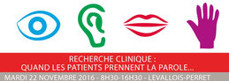 LMC France journée Lilly Association patients Recherche clinique quand les patients prennent la parole