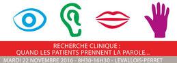 LMC France journée Lilly Association patients Recherche clinique quand les patients prennent la parole