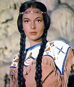 Karin Dor als Ribanna in Winnetou II (Bild: Rialto-Film)
