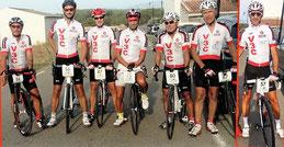 Le Team V3C avant le départ ( manque Philippe H)