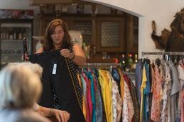 Modenschau mit Textilhandel Uhling