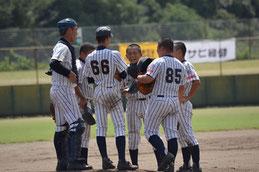 笑顔で中学野球の集大成を--(昨年の大会から)
