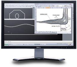 Simulation des Drapierverhaltens von Preformen für GFK und CFK Teile