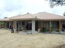 新しい竹富診療所が開所した=1日午前、竹富島