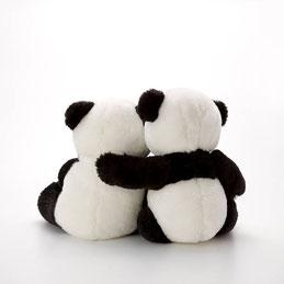 パンダ後ろ姿