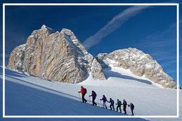 Dachstein Gletscher Radstadt Wiesenrain Schnee Ramsau Schladming