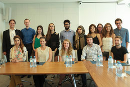2015 Middle East Summer School Participants visit KAICIID