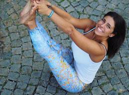 Yoga Lehrerin bei Ashtanga Yoga Institut München