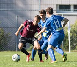 Neuzugang Semih Dönmez erzielte beim Auswärtsspiel in Thüringen einen Hattrick. © Florian Hepberger