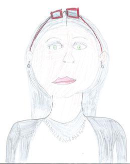gezeichnet von Angelina
