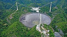 Observatoire d'Arecibo - Porto Rico