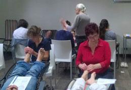 formation lina del rizzo chez Dr. M. Faure-Alderson RTTFA Paris