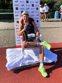 Elija Ziem, 1. 400m U18M (Foto: Fam. Ziem)