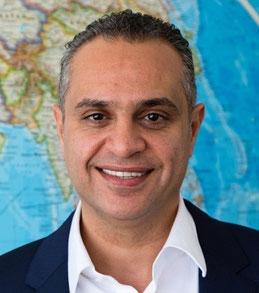 Aramex CEO Hussein Hachem  -  company courtesy