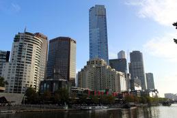 Melbourne, Yarra River, Promenade, Australien