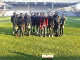 Unsere Studenten des Bachelorstudiengangs Sport- und Eventmanagement beim SC Freiburg