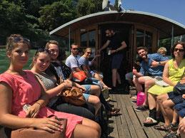 Unsere Tourismus-Studenten auf der Art Basel