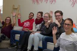 Neue Studenten am Bodensee Campus