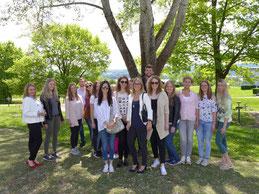Tourismus- und Gesundheitsmanagementstudenten in den Schmieder-Kliniken