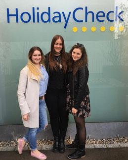 Viele unserer Tourismusstudenten arbeiten bei HolidayCheck