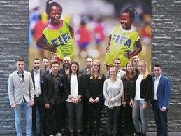 Studiengang Sportmanagement auf Studienreise bei der FIFA, dem IOC und der UEFA