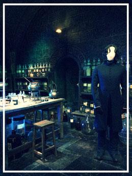 Professor Severus Snape, Zaubertränke, Hogwarts, Studio Tour Harry Potter