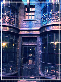 Ollivander Zauberstabladen, Harry Potter Warner Bros. Studio Tour