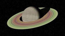 Saturne et ses anneaux