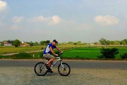 Cycling in Cu Chi