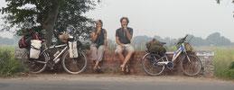 Pause banane dans le nord de l'Inde