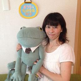 松井式気功整体で子供の喘息の発作が出なくなったという女性