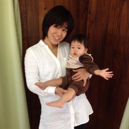 松井式の気功整体でお子さんの喘息が改善した女性